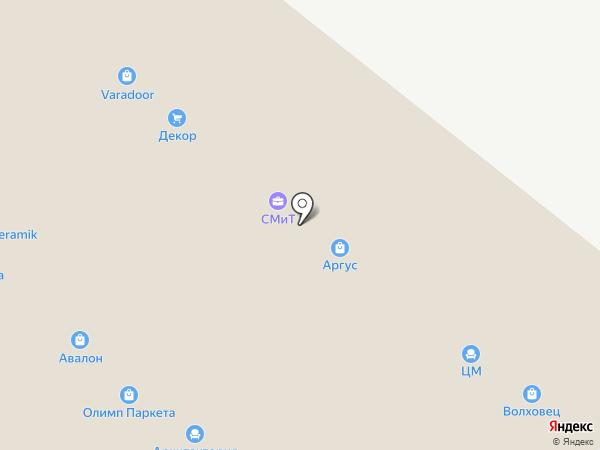 Центр Мебель Комплект на карте Тольятти