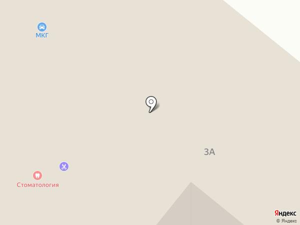Автомойка на карте Высокой Горы
