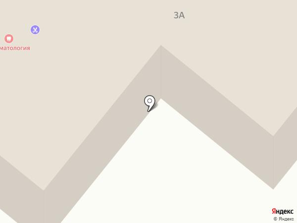 Магазин сантехники на Центральной на карте Высокой Горы