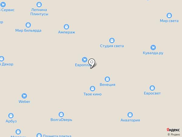 Студия архитектуры и дизайна Татьяны Кравченко на карте Тольятти