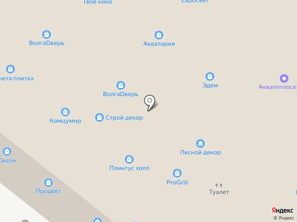 СтолярЪ на карте Тольятти