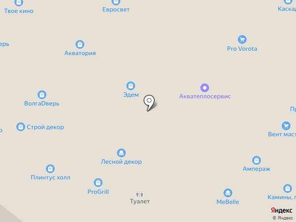 Десса-Декор на карте Тольятти