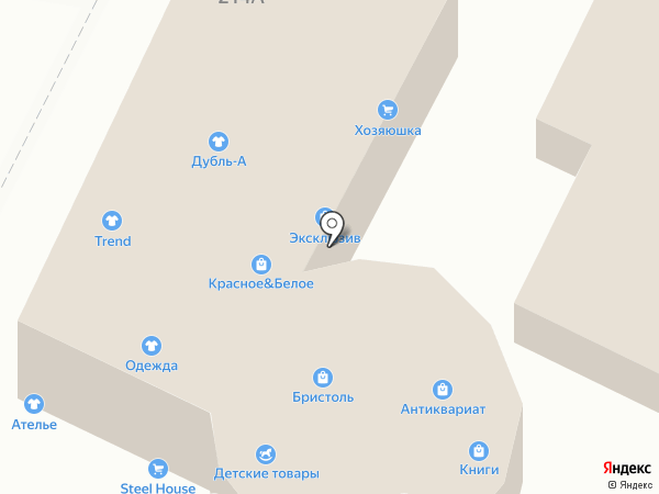 Магазин строительных материалов на карте Высокой Горы