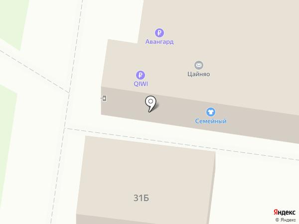 Семейный на карте Тольятти