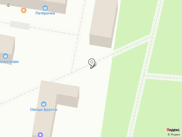 Магазин по продаже цветов на карте Тольятти
