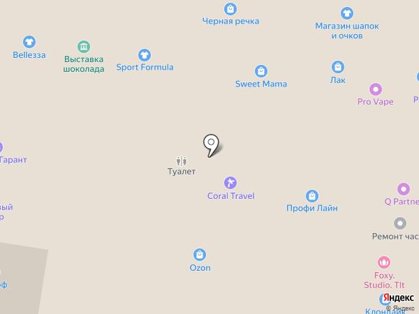 Парижанка на карте Тольятти