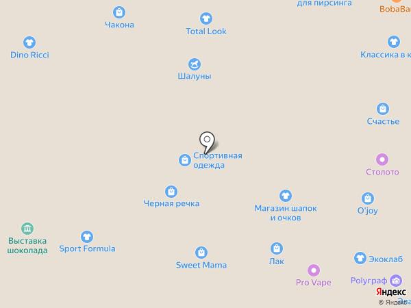 Много Мебели на карте Тольятти
