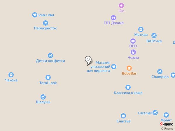 Крутодар на карте Тольятти