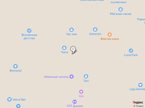 Babyчка на карте Тольятти