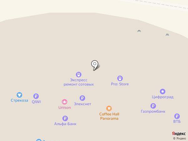 Хлебная лавка на карте Тольятти