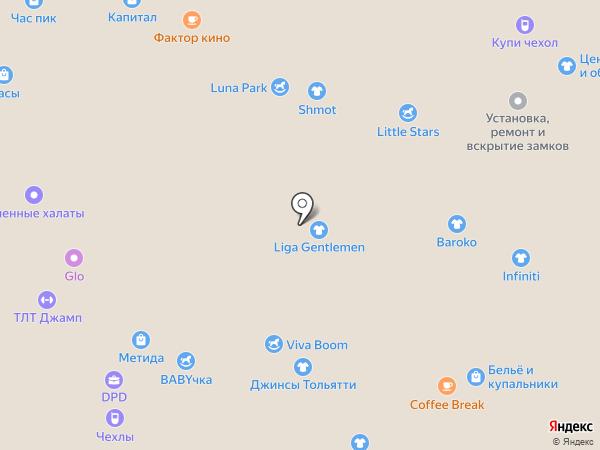 Sony Xperia Мир на карте Тольятти