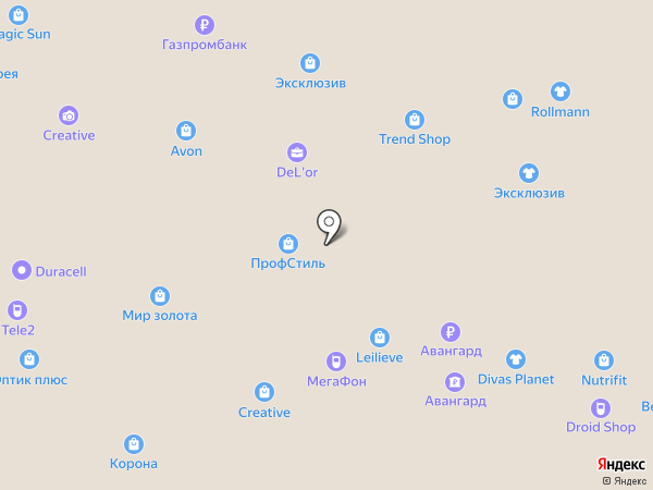Совкомбанк, ПАО на карте Тольятти