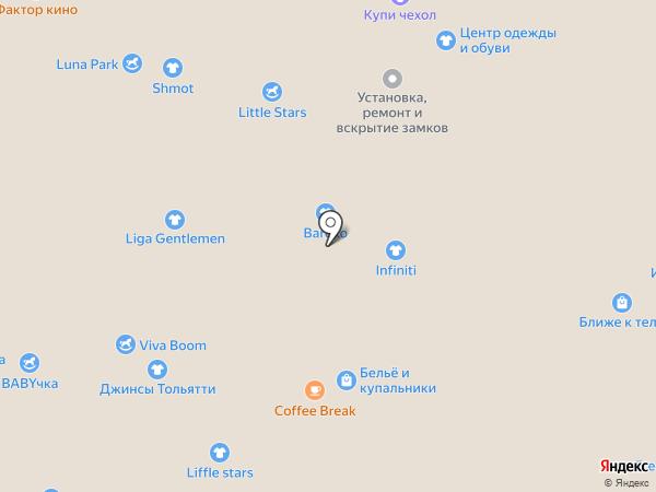 Men house на карте Тольятти