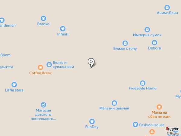 ТехноЗайм на карте Тольятти
