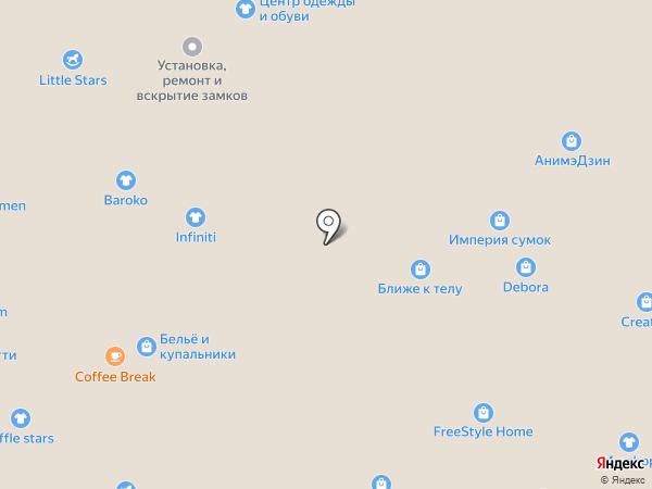 Goldmen на карте Тольятти