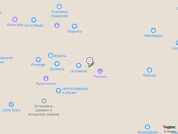 Магазин бижутерии и аксессуаров для волос на карте Тольятти