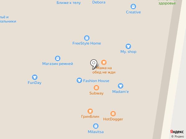 Магазин ремней на карте Тольятти