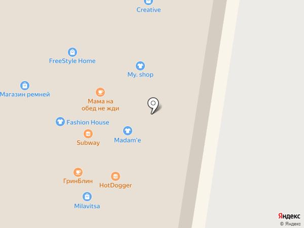 ГринБлин на карте Тольятти