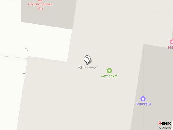 Академия Профессионального Управления, ЧОУ ДПО на карте Тольятти
