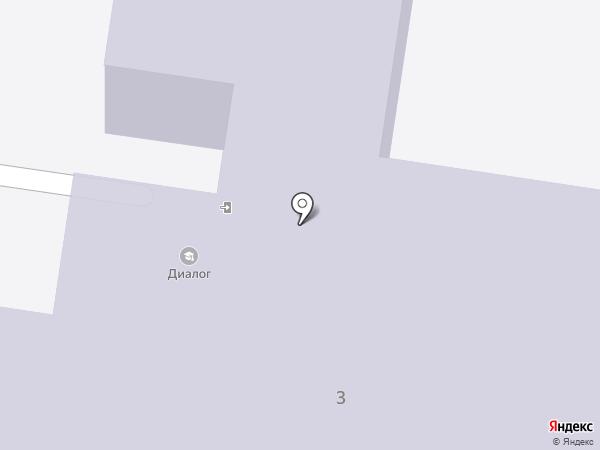 Диалог, МБОУ на карте Тольятти