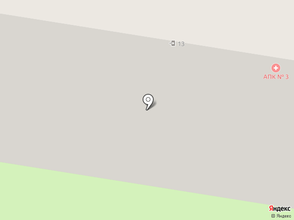 Амбулаторно-поликлинический комплекс на карте Тольятти