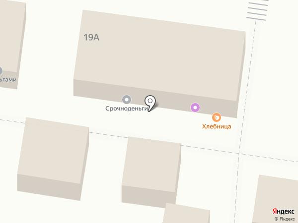 Срочноденьги на карте Тольятти
