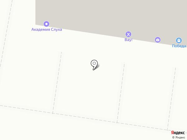 Максавит на карте Тольятти