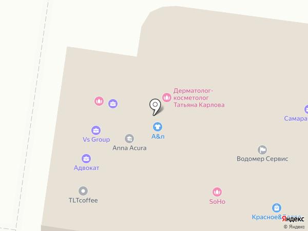 ДиректИнжСтрой на карте Тольятти