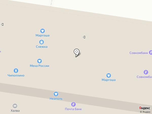 Банкомат, Банк Югра, ПАО на карте Тольятти
