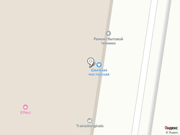 Гарфилд на карте Тольятти