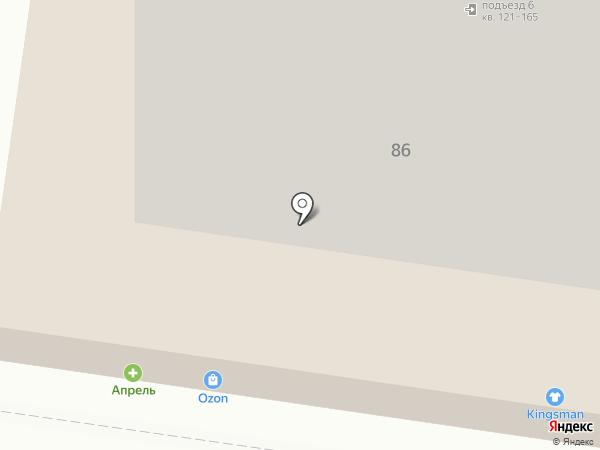 Жигули на карте Тольятти