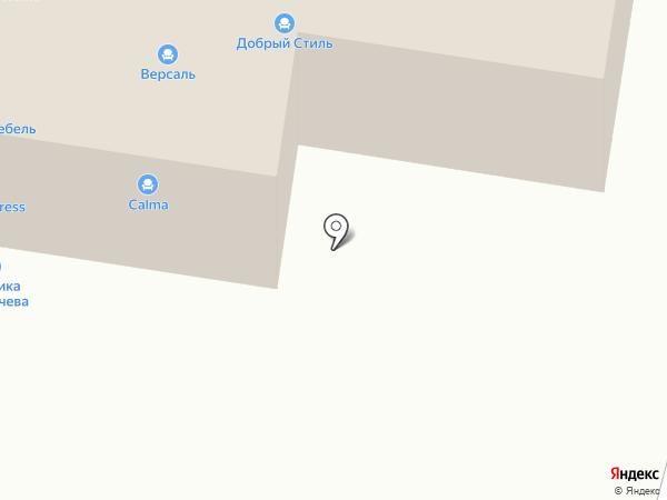 Проект-мебель на карте Тольятти
