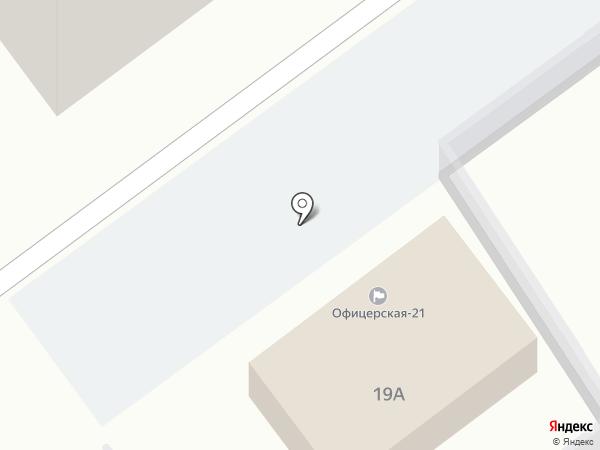 Офицерская-21, ТСЖ на карте Тольятти