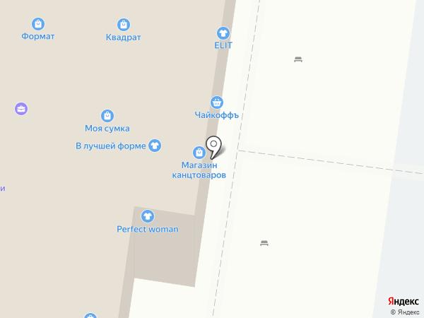 Тольяттинская юридическая консультация на карте Тольятти