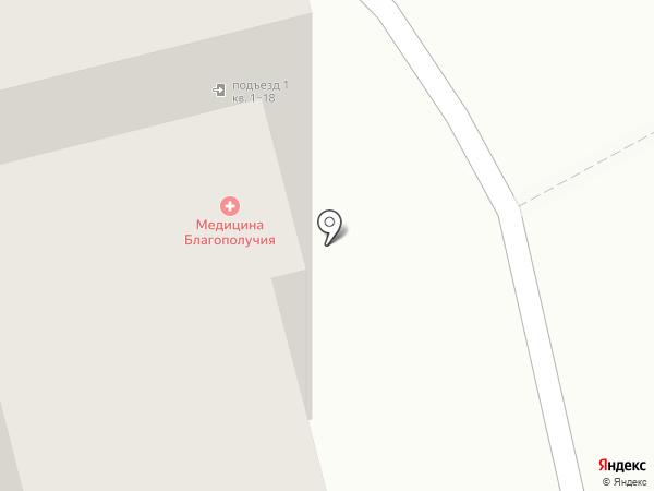 Общага на карте Тольятти