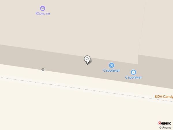 Строймаг на карте Тольятти