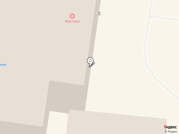 Отражение на карте Тольятти