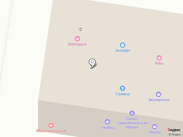 Благодать на карте Тольятти