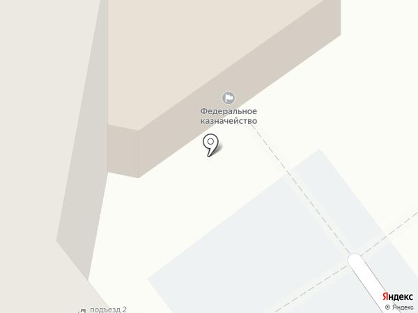 Управление Федерального казначейства по Самарской области на карте Тольятти