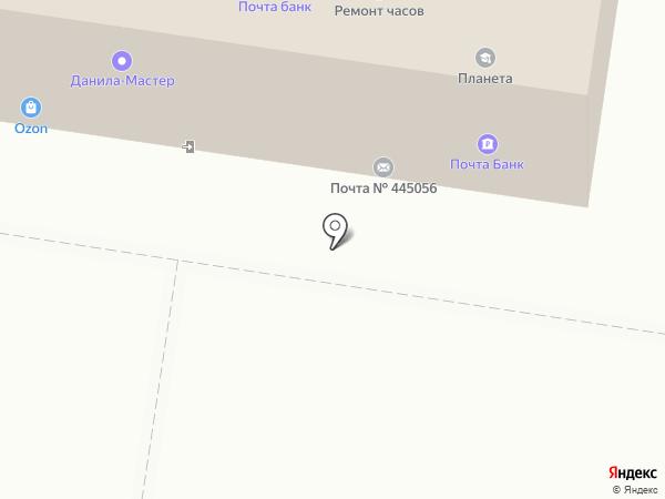 Ателье на карте Тольятти