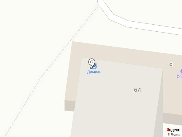 Кран на карте Тольятти