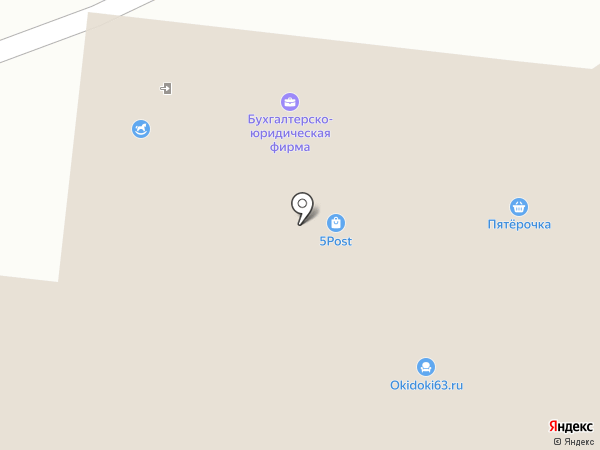 Текстиль хаус на карте Тольятти