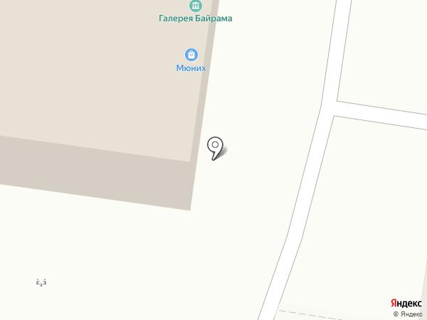 Мюних на карте Тольятти
