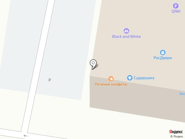 Люксон на карте Тольятти