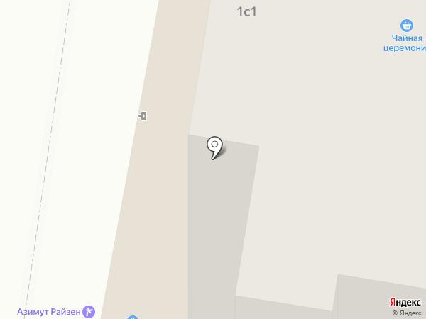 Магазин одежды на карте Тольятти