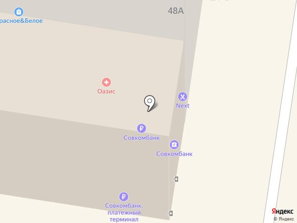 Спартак на карте Тольятти