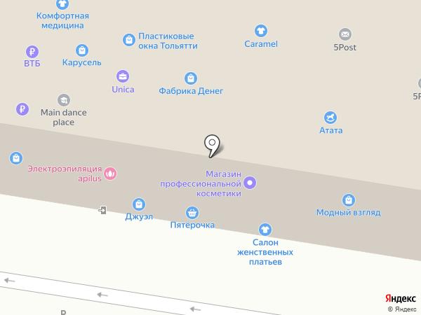 Система на карте Тольятти