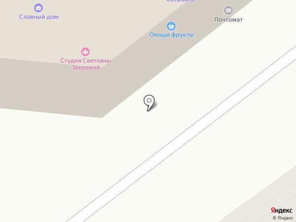 Титус-Арт на карте Тольятти
