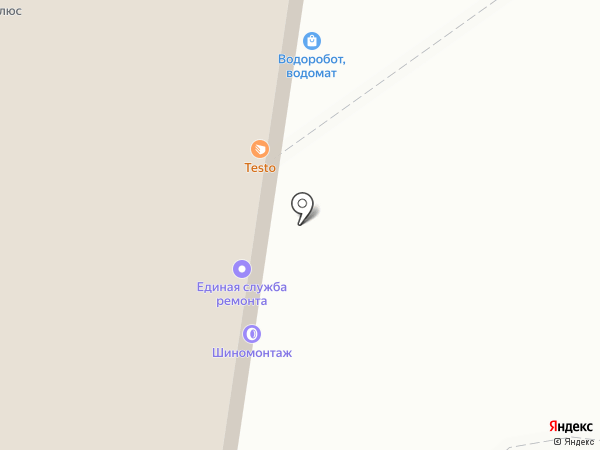 Единая служба ремонта на карте Тольятти