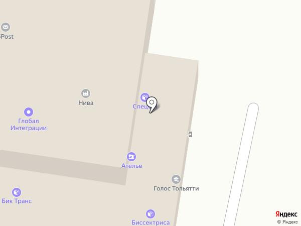 Суровый Маркетинг на карте Тольятти